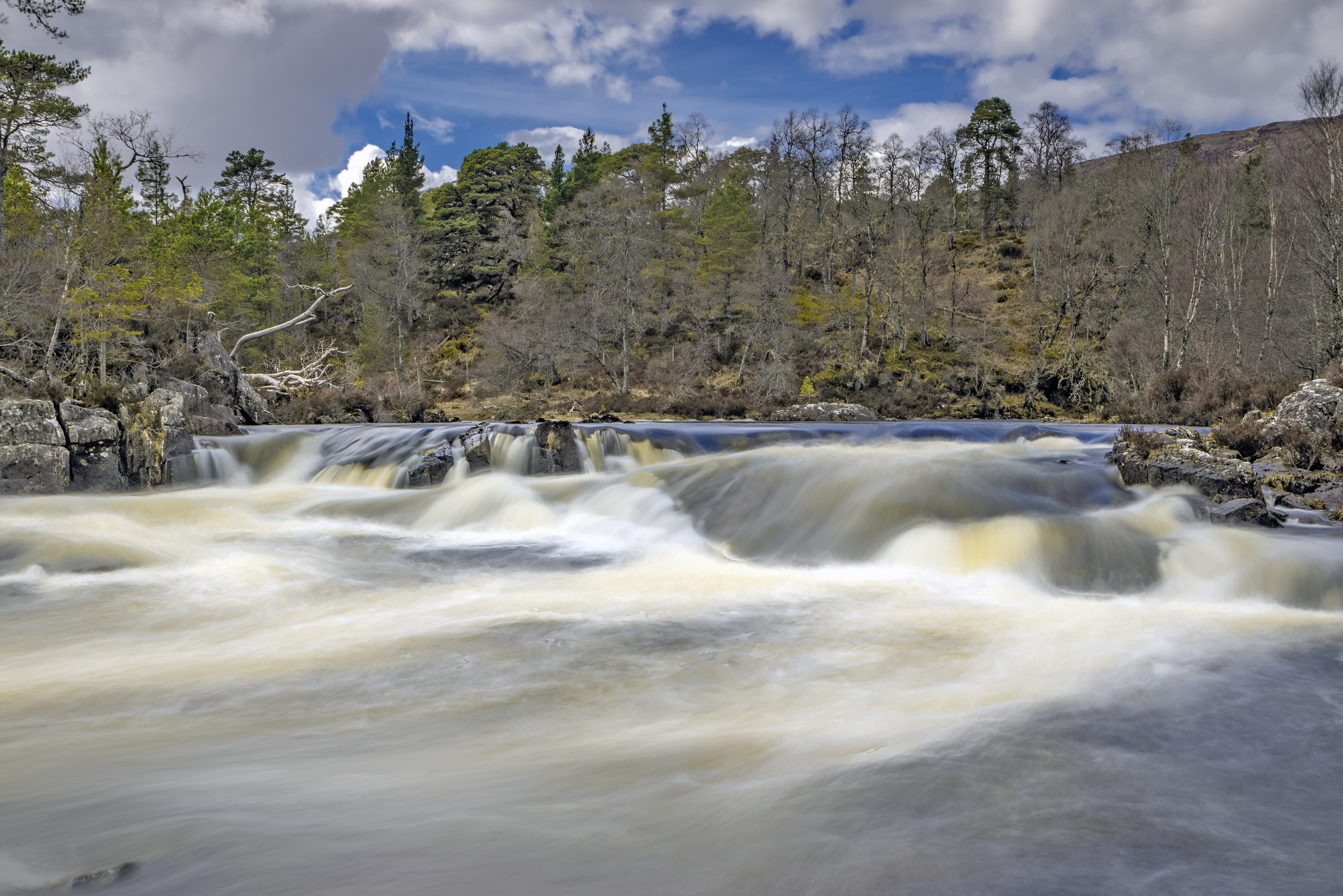 river affric, moving water, landscapephotography