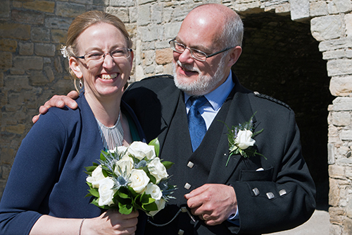 Cat and Mike's Wedding at Inchcolme