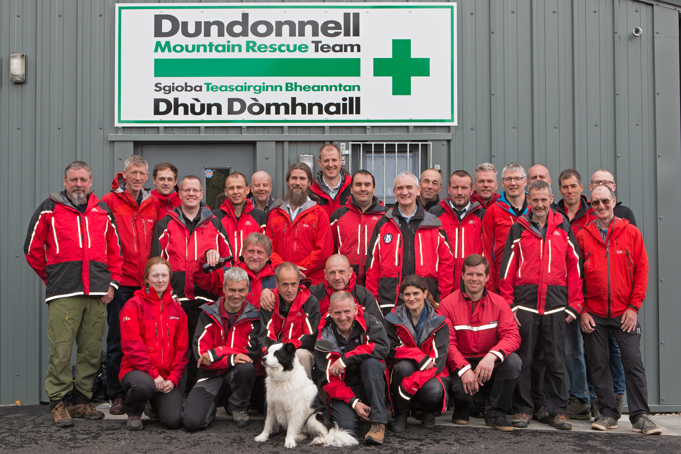 Dundonnell Mountain Rescue Team Base Opening, Dingwall