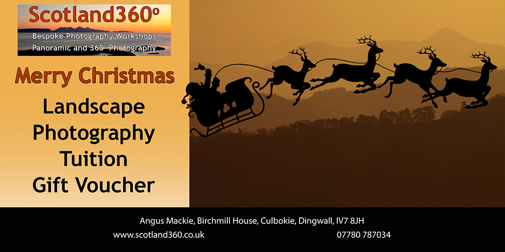 Scotland360 Christmas Gift Voucher
