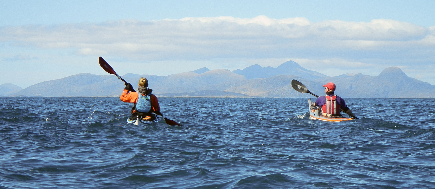 Sea Kayaking in the Minch - Hebridean Adventures Photography Expedition