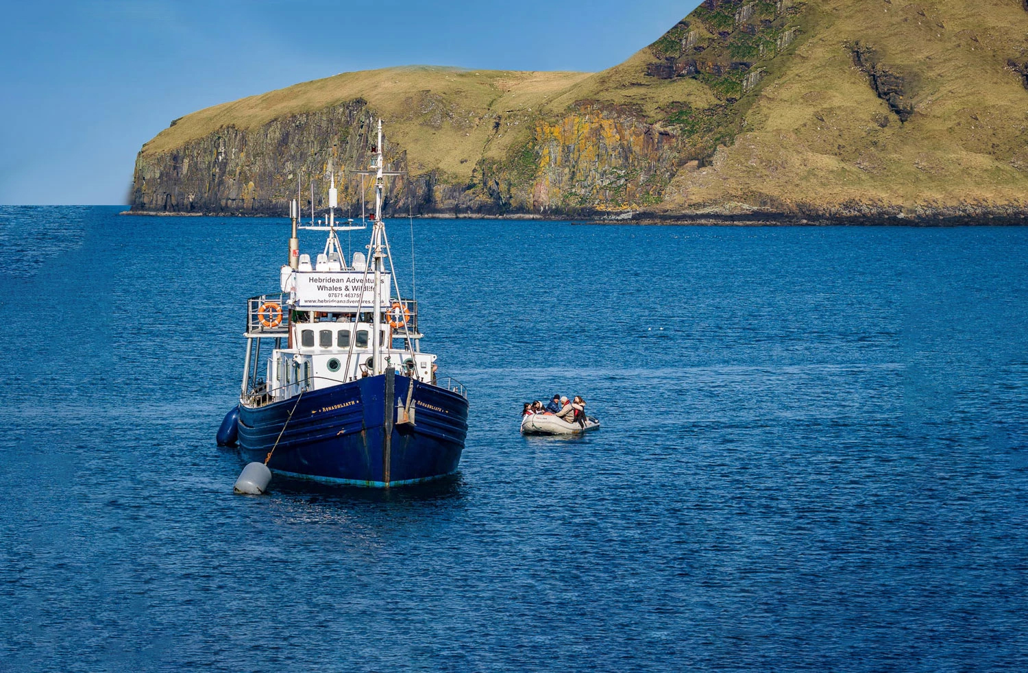 MV Monadhliath - Hebridean Adventures Photography Expedition